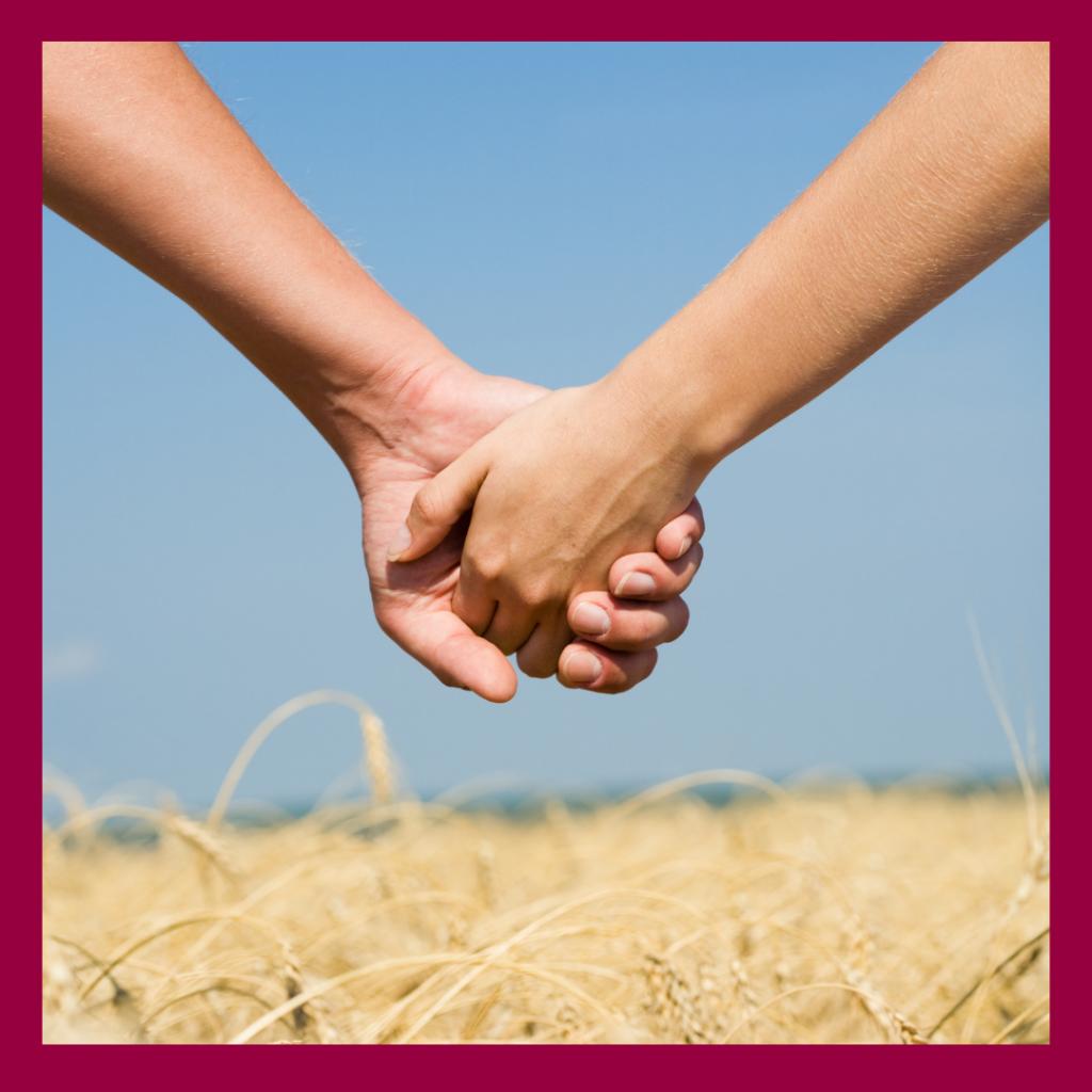 Miteinander Hand in Hand